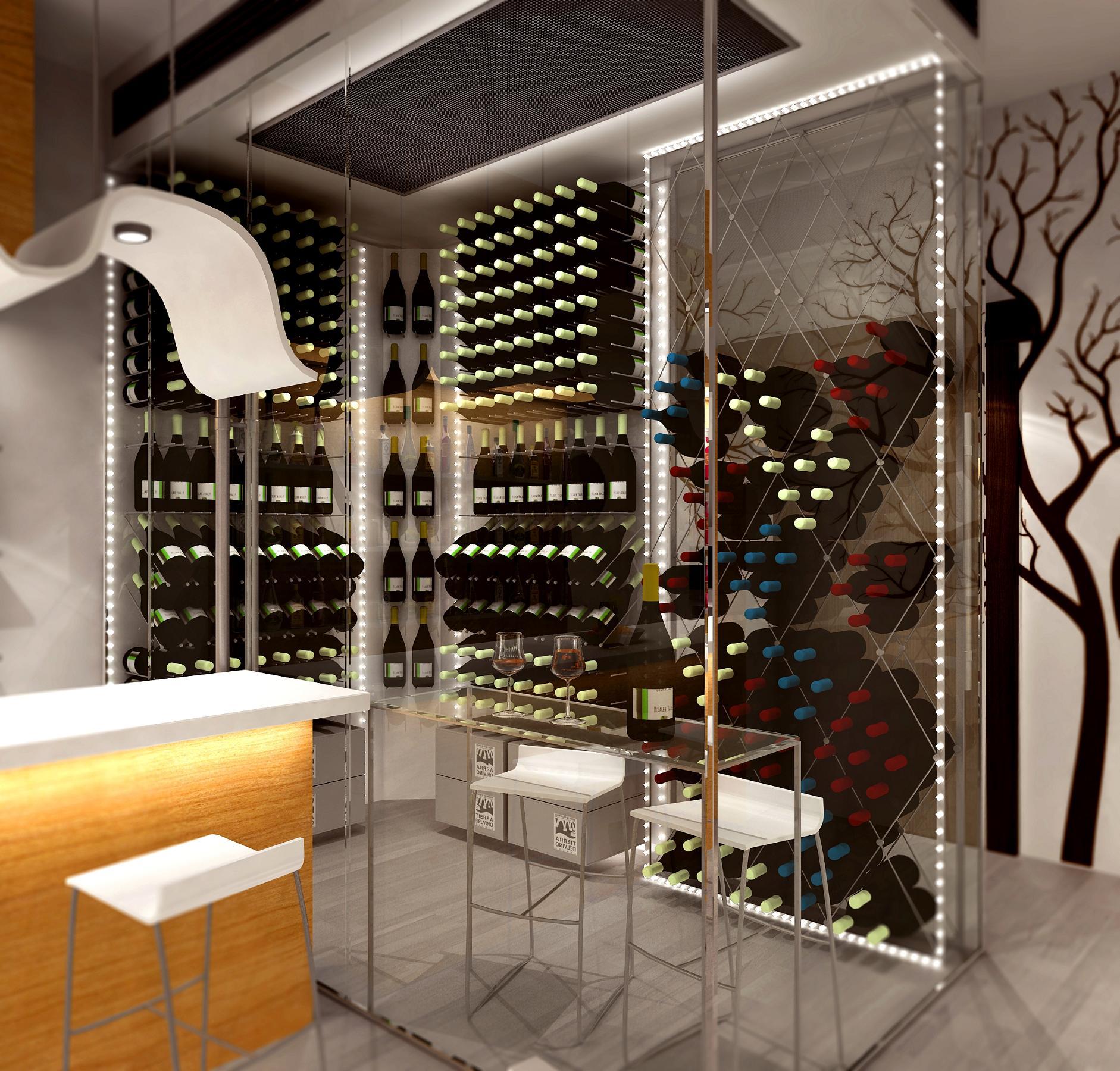 Montar una bodega climatizada en un restaurante mundo vino - Cavas de vino para casa ...